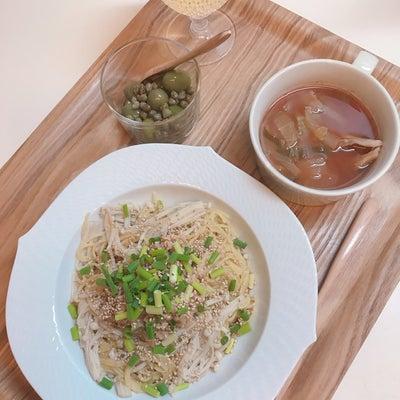 今日は、納豆パスタ♡の記事に添付されている画像