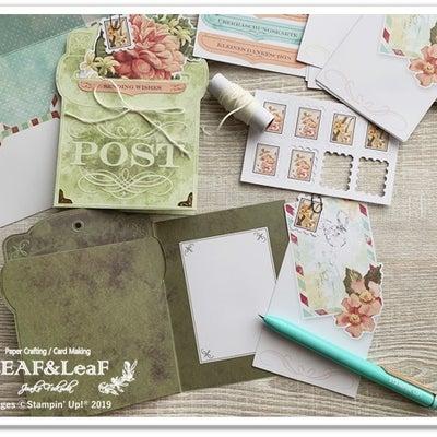 簡単で、オシャレ!組み立てるだけのポケットカード「プレシャスパーセル」の記事に添付されている画像