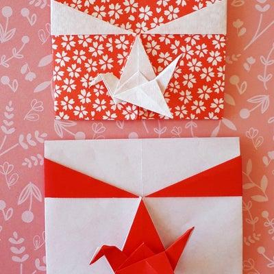 鶴の日の出包み (ぽち袋)の記事に添付されている画像