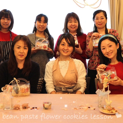 【レポ】広島レッスンスタート♡可愛いあんフラワークッキーが咲きました♡の記事に添付されている画像