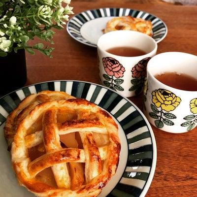 インスタで流行中の「ミニ丸形アップルパイ」を作ってみました~♡の記事に添付されている画像