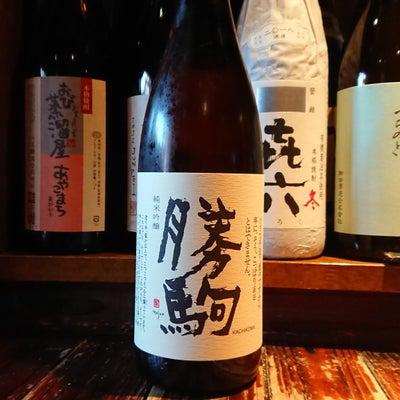 勝駒 純米吟醸!今日も助っ人が!そして今夜も『第268回和酒BarSHU』営業致の記事に添付されている画像