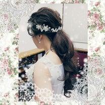 清楚で美しい花嫁様によくお似合いの素敵なティアラ和装婚礼ヘア&メイク着付け洋装ブの記事に添付されている画像