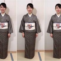 スタイル比較してみました!名古屋帯の巻き方3種!の記事に添付されている画像