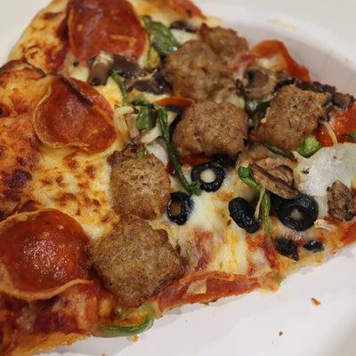 コストコのフードコートのピザの記事に添付されている画像