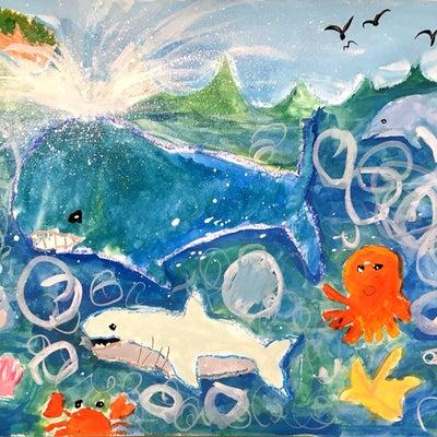 ブリヂストンこどもエコ絵画コンクールの記事に添付されている画像