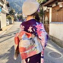 宮島へカジュアル着物撮影への記事に添付されている画像