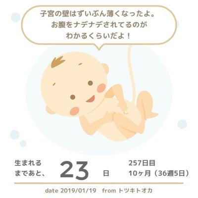 切迫早産入院40日目 退院しました!の記事に添付されている画像