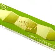 【セブン】新フレーバー登場☆ゴディバ ザ タブレット ホワイトチョコレート 宇治抹茶