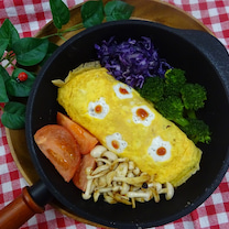スキレット風なフライパンでワンプレートご飯の記事に添付されている画像