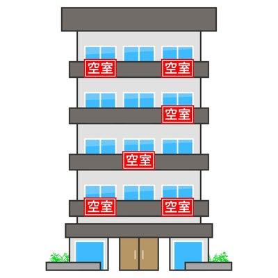 全国の空室率ランキングの記事に添付されている画像