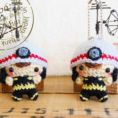 【オーダー】消防士ベビーちゃん(Creema)の記事に添付されている画像