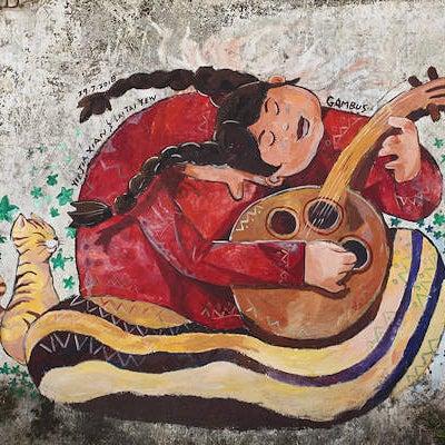 イポーのMural Artでアートと癒やしの世界にハマる。の記事に添付されている画像