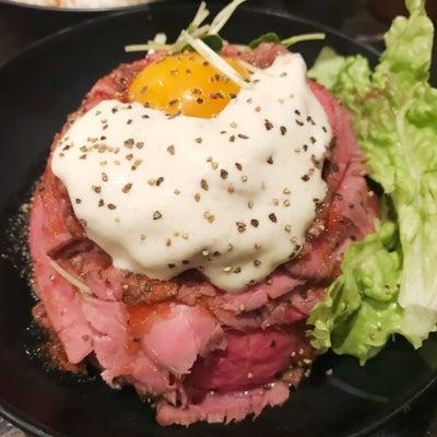 街コン結果と美味しいお肉丼の記事に添付されている画像