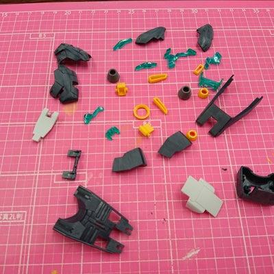 MG νガンダム Ver.k.a(DFF)~45の記事に添付されている画像