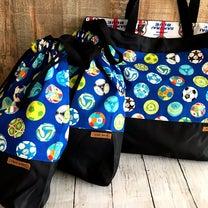入学準備品。サッカー少年の為の袋物3点セット。の記事に添付されている画像