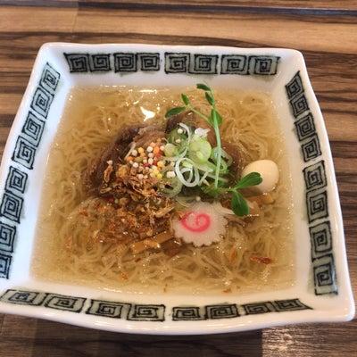 【ラーメン】塩牛すじラーメン 大盛り@麺 玉響 愛知県 西尾市の記事に添付されている画像