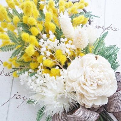 【2月】春のミモザレッスン&スケジュールのお知らせの記事に添付されている画像