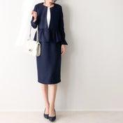 義母絶賛の大人可愛いセレモニースーツ/UNIQLOで昨年すぐ完売したジャケット