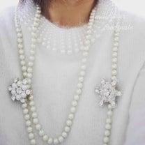 雪の結晶モチーフと真っ白coodinateの記事に添付されている画像
