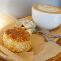 浅草カフェ:feb's coffee&scone モーニングスコーンセット(プレの記事に添付されている画像