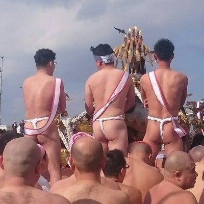 江ノ島寒中神輿錬成大会の記事に添付されている画像