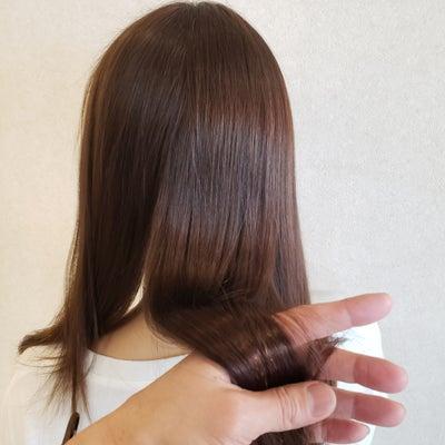 髪質改善トリートメントその後の記事に添付されている画像