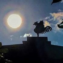 2019.1.14 私の見た京都㉙ 「銀閣寺」鳳凰の周りで輝く太陽と龍神雲 …♥の記事に添付されている画像