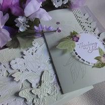 stampin' up! 限定製品 de お花のカードの記事に添付されている画像