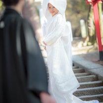 神社での和装前撮りの記事に添付されている画像