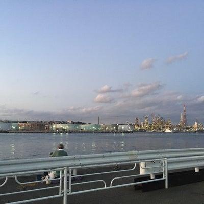 新磯子町の工場夜景の記事に添付されている画像