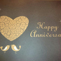 結婚記念日の記事に添付されている画像