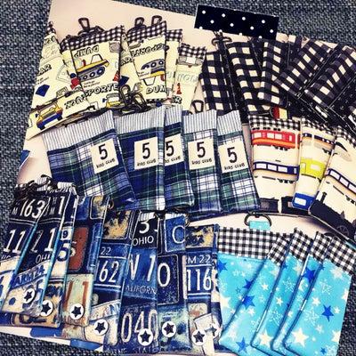 移動ポケット&ガーゼハンカチ大量生産!shopに並べたよーの記事に添付されている画像