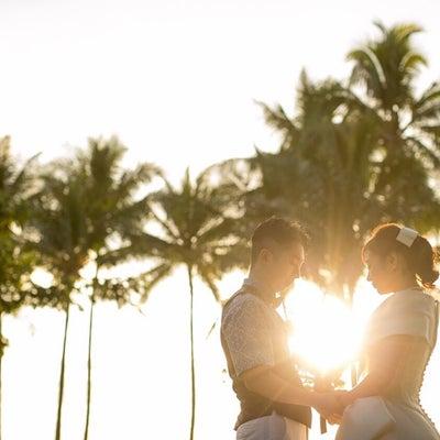 Hawaiiウェディングの記事に添付されている画像