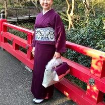 着物女子会@椿山荘でのコーディネートの記事に添付されている画像