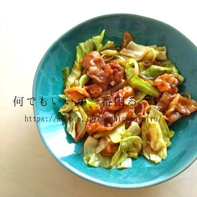 豚肉とキャベツのピリ辛炒めの記事に添付されている画像