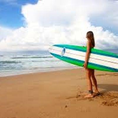 ダイエットは、サーフィンに似てる話の記事に添付されている画像