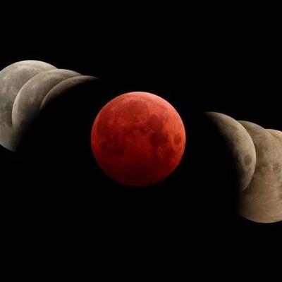 ●皆既月食も伴って、最高にパワフルな満月(スーパー・ブラッド・ウルフ・ムーン)の記事に添付されている画像