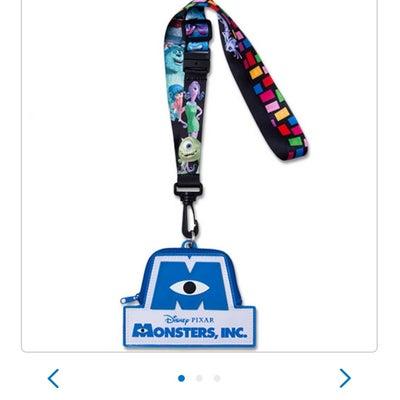 新グッズ☆ピクサーのパスケースの記事に添付されている画像