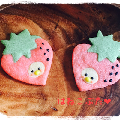 【アイスボックスクッキー】かぶりものの記事に添付されている画像