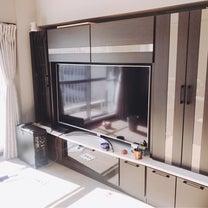 ♪新居家具家電♪かねたやのTVボードと65型LGがシンデレラフィット!の記事に添付されている画像