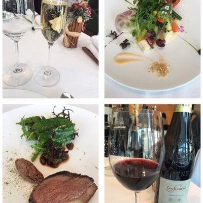 今年初ランチは素敵な方と三ツ星レストラン@モリエール♡の記事に添付されている画像