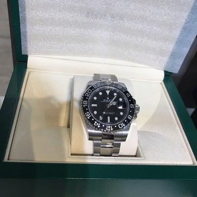 新品 ロレックス GMTマスター2 116700LN ブラックが買取入荷(๑˃̵の記事に添付されている画像