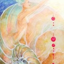 スピリチュアルアート館 ~獅子座満月アート『世界にエントリーする』の記事に添付されている画像