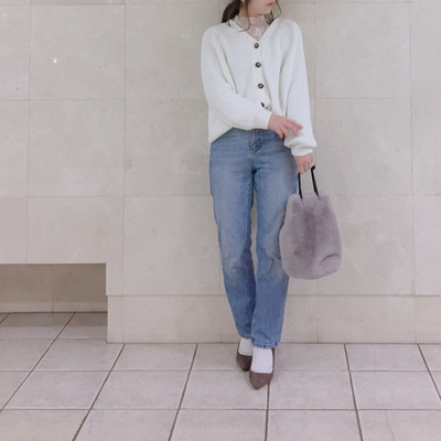 GU 大人気のコクーンカーディガン♡の記事に添付されている画像
