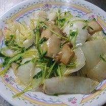 今日は料理番組の日♪イカと白菜の炒め物♪の記事に添付されている画像
