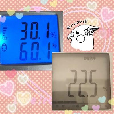 体脂肪率-10%以上減ってた☆の記事に添付されている画像