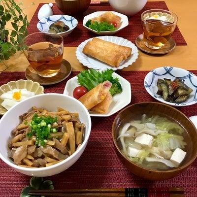 豚肉と筍のあんかけご飯。の記事に添付されている画像