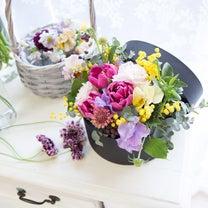 春ならではのかわいいお花でBOXアレンジを作ってみましょう!の記事に添付されている画像