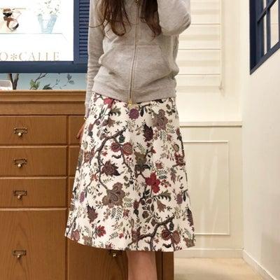 存在感バツグン!華やぎタックフレアースカート♪の記事に添付されている画像